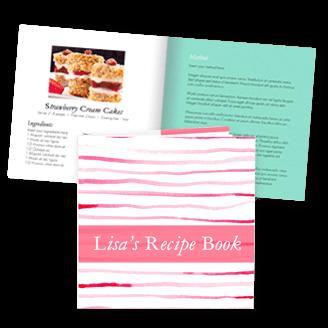 recipe booklet template