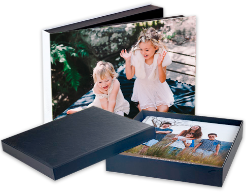 how to make a photo album with an book