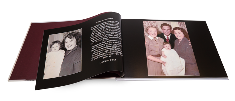 Family History Books: create your own photo legacy